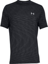 Under Armour Vanish Seamless SS Sportshirt - Heren - Zwart