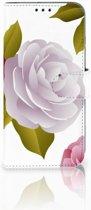 Honor 10 Lite Uniek Boekhoesje Roses