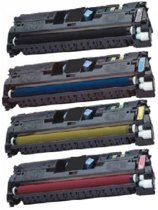 Compatible HP 122A (Q3960A-Q3963) Multipack 4x toner cartridge