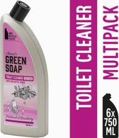 Marcel's Green Soap Toiletreiniger Patchouli & Cranberry - 6 x 750 ml