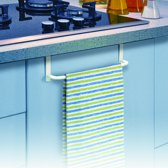 Rayen multifunctionele houder voor aan een keukenkastdeur of badkamerkastdeur – 25,5 cm