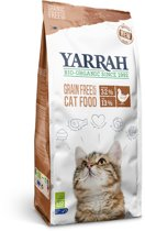 Yarrah Organic - Graanvrij - Kattenvoer - 1 x 800 gr