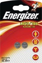 Energizer knoopcel LR43/186 blister van 2 stuks