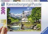 Ravensburger puzzel Ramsau, Beieren - Legpuzzel - 300 stukjes
