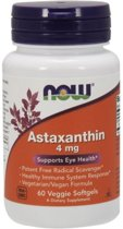 Astaxanthine 4mg Now Foods 90v-softgels