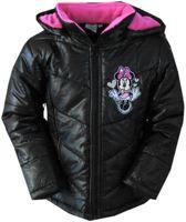 Minnie mouse winterjas Kleur: zwart/roze Maat:128