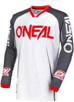 O'Neal Crossshirt Mayhem Blocker White/Gray-XXL