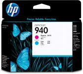 HP 940 - Inktcartridge / Magenta / Cyaan (C4901A)
