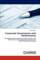 Corporate Governance and Performance