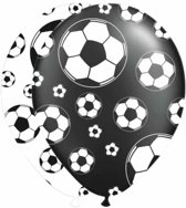 Ballonnen Soccer Party: 8 stuks