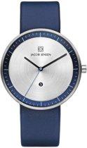 Jacob Jensen 272 horloge heren - blauw - edelstaal