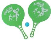 Johntoy Beachball-set 3-delig Groen 36 X 22 Cm