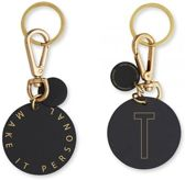 Personal Key Ring En Bag Tag - T