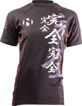 Nihon Thermoshirt Rashguard Kanzen Heren Zwart Maat Xxl