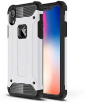 Apple iPhone XR Hoesje - Extreme Back Case - Wit