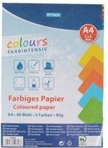 Gekleurd A4 hobby papier 80 gram