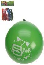 Ballonnen 5 jaar 8 stuks