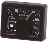 Richter Analoge Thermometer - Vierkant - Zwart