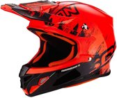 Scorpion Crosshelm VX-21 Air Mudirt Black/Neon Red-S