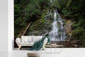 Fotobehang vinyl - Meertje in het Nationaal park Forillon in Canada breedte 360 cm x hoogte 240 cm - Foto print op behang (in 7 formaten beschikbaar)