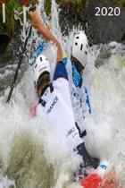 2020: Diary, Weekly Planner, Organiser, Year 2020 - Week Per View. Gift for Kayak, Canoe, White Water Rafter