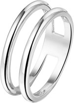 The Jewelry Collection Multi-ring - Zilver Gerhodineerd