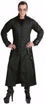 Halloween - Zwarte gothic/vampier jas verkleedkleding voor heren 48-50 (S/M)