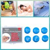 SIMIA™ Premium Siliconen Vormbare Oordoppen - Slapen - Tegen Geluidsoverlast en Snurken - Gehoorbescherming - 6 Stuks
