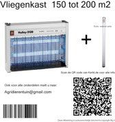 Vliegenkast  capaciteit 150-200 m2