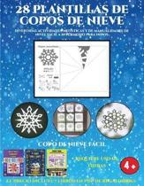 Copo De Nieve Facil (Divertidas Actividades Artisticas Y De Manualidades De Nivel Facil a Intermedio Para Ninos)