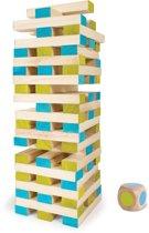 BS Toys ® Grote toren met dobbelsteen