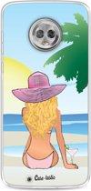 Casetastic Softcover Motorola Moto G6 - BFF Sunset Blonde