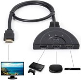 Supersnelle HDMI Switch / Splitter / Schakelaar - 3 Poorts