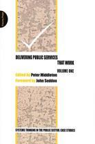 Delivering Public Services That Work
