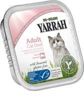 YARRAH CAT KUIPJE WELLNESS PATE GARNAAL/ZALM OMEGA 3/6 100 GR