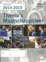 Thema´s Maatschappijleer Havo 2014-2015 werkboek