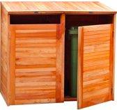 Hardhouten kliko container ombouw dubbel