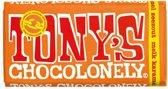 Tony's Chocolonely reep Melk Karamel Zeezout - 180 gram