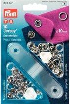Prym Jersey Drukknopen 10 stuks 10 mm zilver
