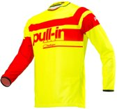 Pull-In Crossshirt Challenger Race Neon Yellow/Red-M