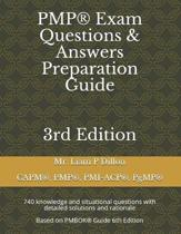 Pmp(r) Exam Questions & Answers Preparation Guide