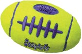 Kong air football medium 1 ST - Bal - 150mm x 130mm x 64mm - Geel