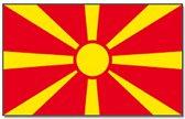 Vlag Macedonie 90 x 150 cm