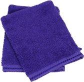 ARTG Towelzz® Washandje 100% Katoen - Purple - (Set 10 stuks)