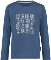 Noppies Jongens T-shirt Talbot - Indigo blue - Maat 86