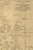A plan of the town and chart of the harbour of Boston / exhibiting a view of the islands, castle forts, and entrances into the said harbour - A Poetose Notebook / Journal / Diary (50 pages/25 sheets)