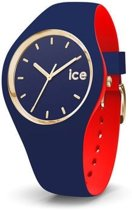 Ice Watch ICE loulou IW007241 Horloge - Siliconen - Blauw - 41,5 mm