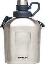 Stanley Adventure Canteen Thermosfles - 1,0L - RVS - Stainless Steel
