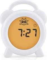 Alecto BC-100 Slaaptrainer-Nachtlamp-Wekker | Stimuleert kinderen in bed te blijven, geeft ouders meer nachtrust | Wit