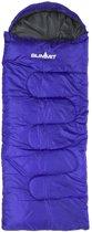 Summit Slaapzak Envelope Met Capuchon Junior 160 X 60 Cm Blauw